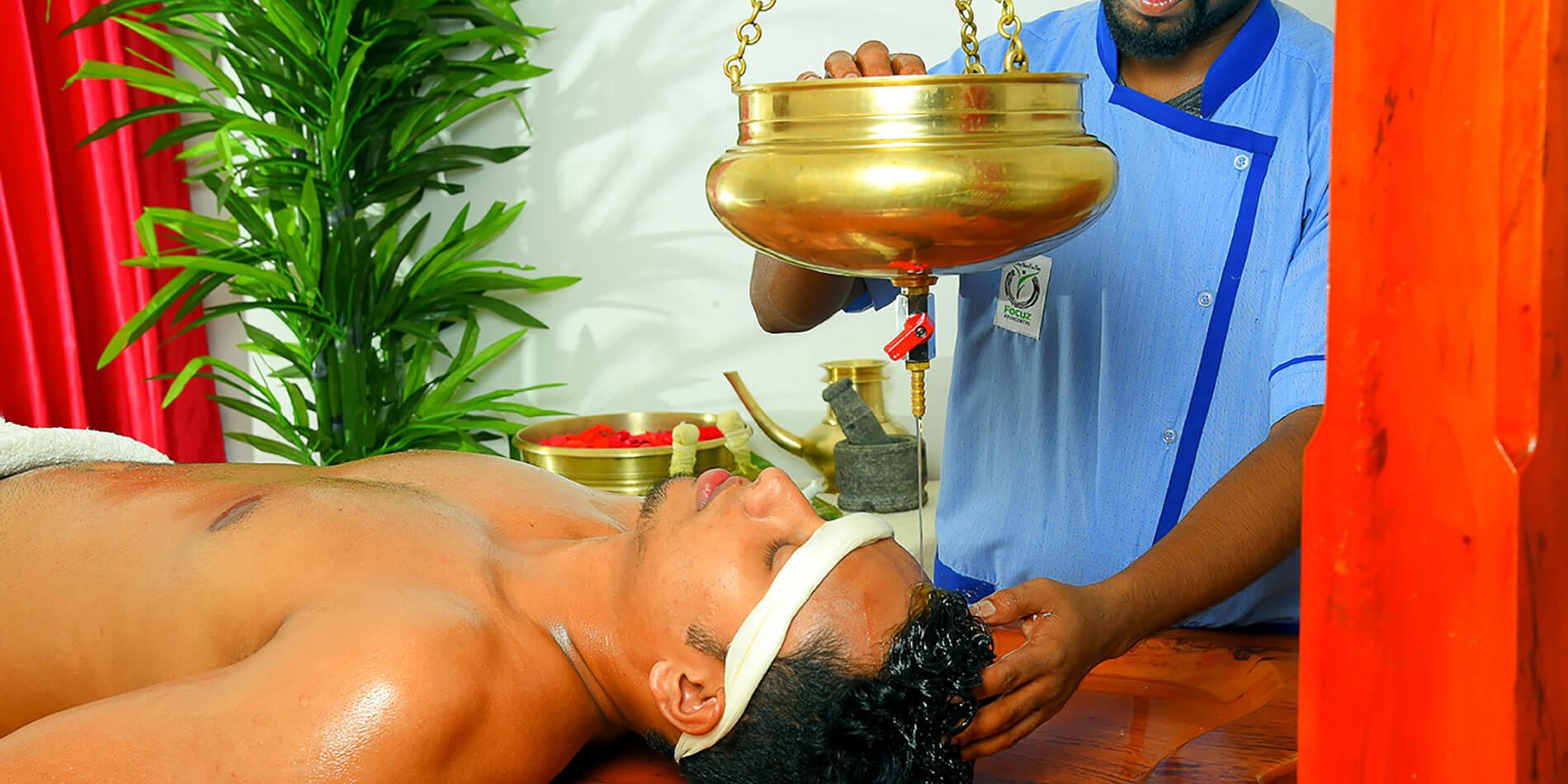 Shirodhara Ayurvedic Treatment Kerala, India
