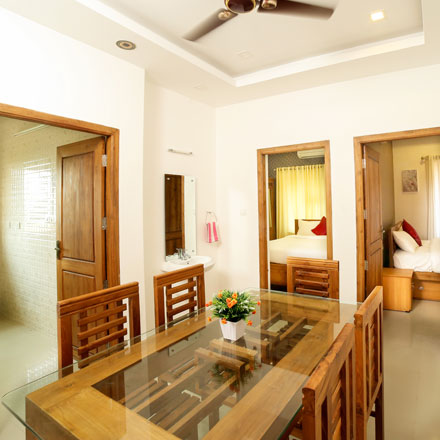 Focuz ayur centre accommodation