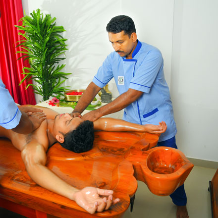 Abhyangam ayurveda treatment